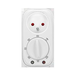 Mechanical timer with twilight sensor, 16A/230A