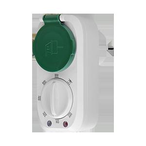Outdoor mechanical timer with twilight sensor, 16A/230A, IP44