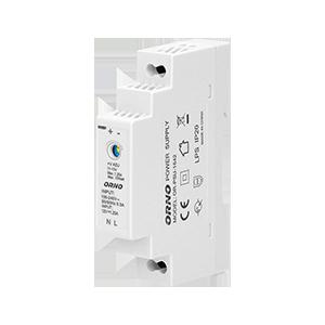 Zasilacz na szynę DIN 12VDC, 1,25A, 15W, szerokość 1 moduł