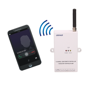 GSM controller for gate control