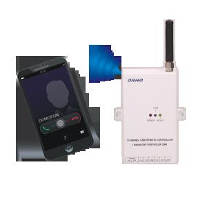 GSM-Kontroller zur Steuerung des Tores