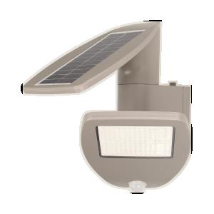 Lampa ogrodowa, solarna SAURO LED z czujnikiem ruchu