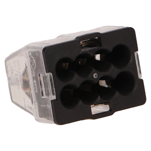 8-wire, MINI snap-action block connector, 10 pcs.