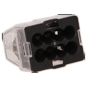 Szybkozłączka MINI 8-torowa, 24A, 0,5-2,5mm², 10szt