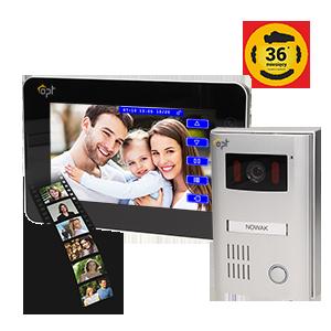 Single family videodoorphone, 2-wire, TEXTUS MEMO, 7