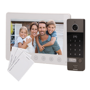 Single family videodoorphone NUMERUS 7
