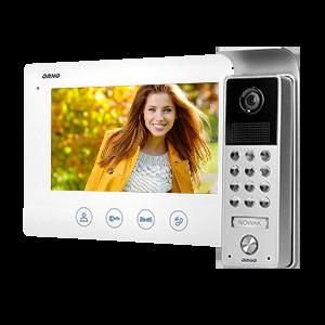 Videotürsprechanlage-Set, ohne Hörer, farbiger LCD 7