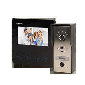 Zestaw wideodomofonowy DUX 4,3''