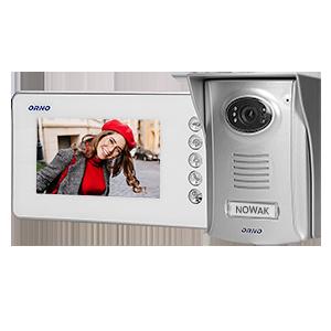 Videotürsprechanlage-Set AMMO 4,3 mit Plastikkamera