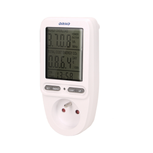 Energy calculator with LCD display
