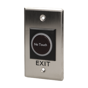 Exit button, touchless