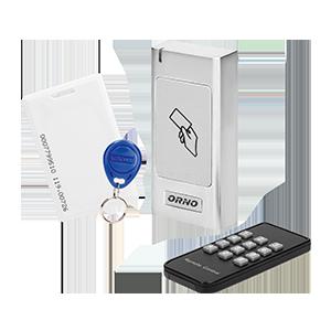 Czytnik kart i breloków zbliżeniowych, IP66 , Metalowa Obudowa