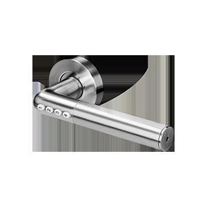 Klamka z zamkiem szyfrowym IP20 , Otwieranie na PIN i Bluetooth