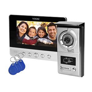 Video-Türgegensprechalange mit Schlüsselanhänger, CHARON BAX 7