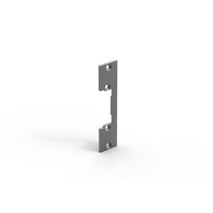 Szyld prosty, symetryczny, krótki, niklowany,110 mm