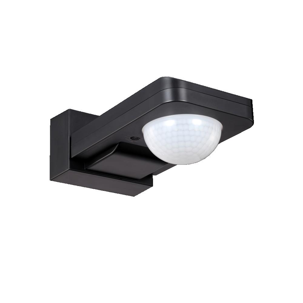 Motion and presence sensor, 360°, black