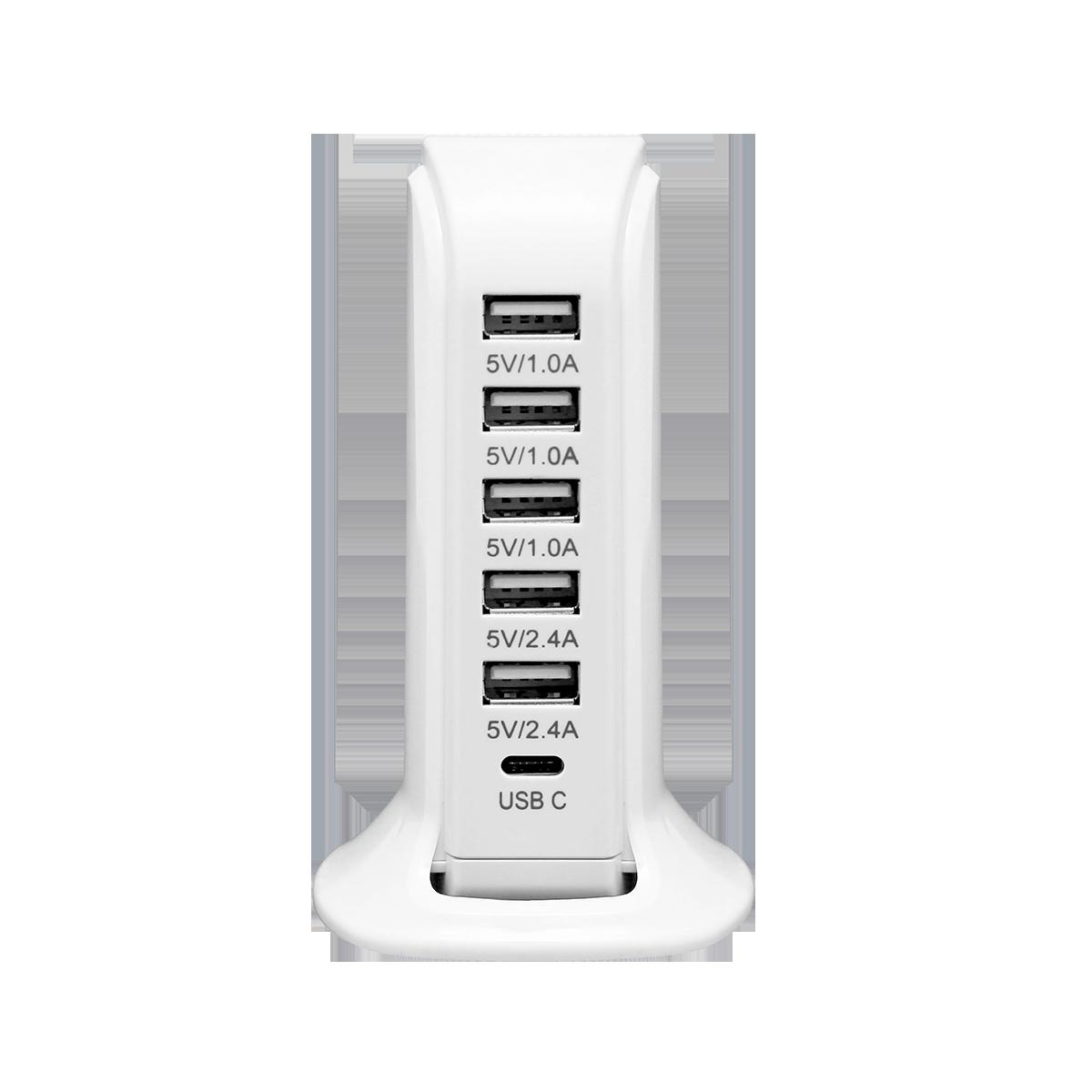 Stacja ładująca 6 x USB