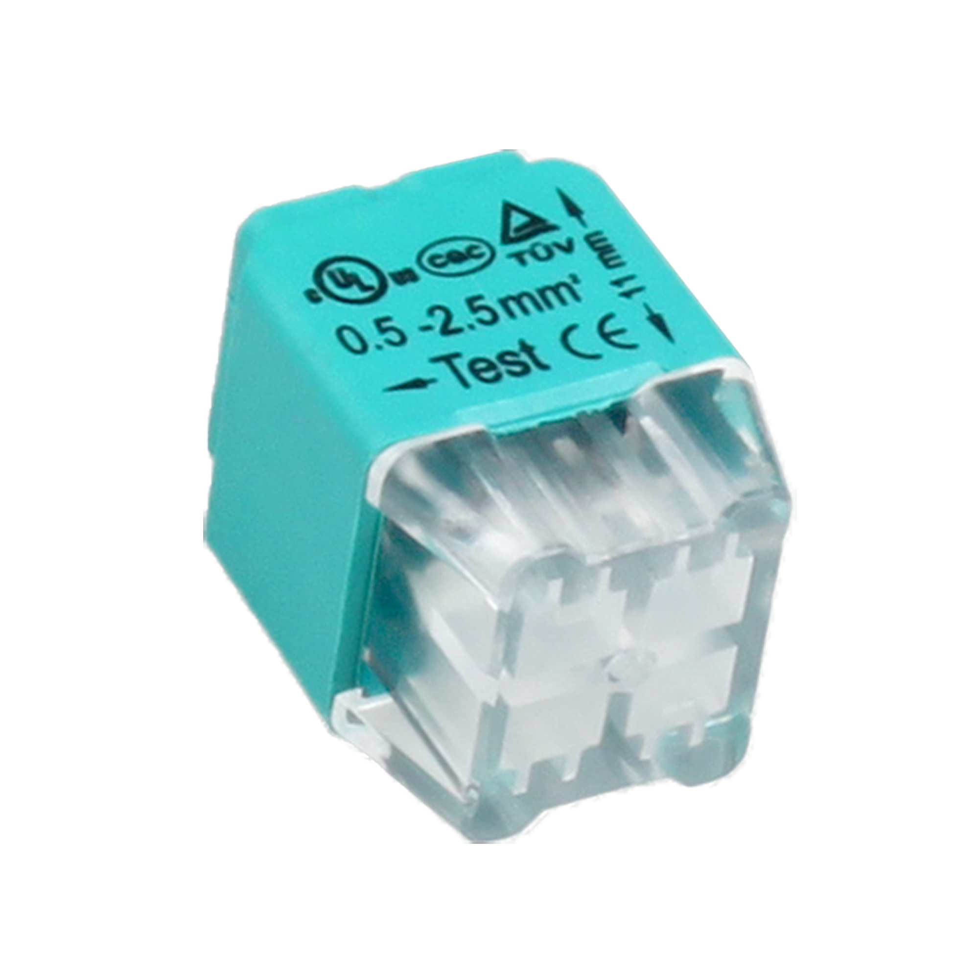 Złączka instalacyjna wciskana 4-przewodowa; Dwurzędowa; Na drut 0,75-2,5mm²; IEC 300V/24A