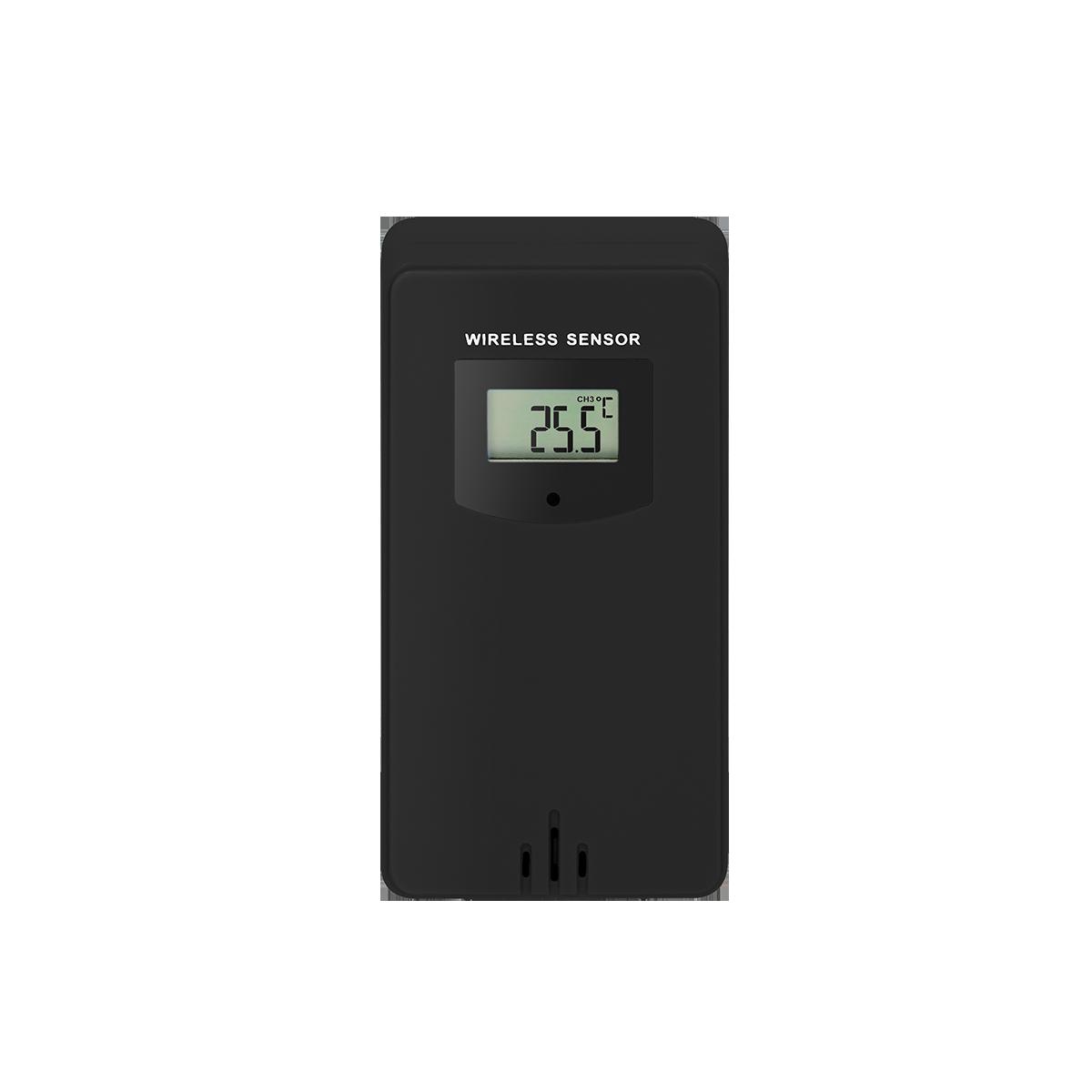 Czujnik temperatury zewnętrzny do  stacji pogodowej OR-SP-3100, czarny