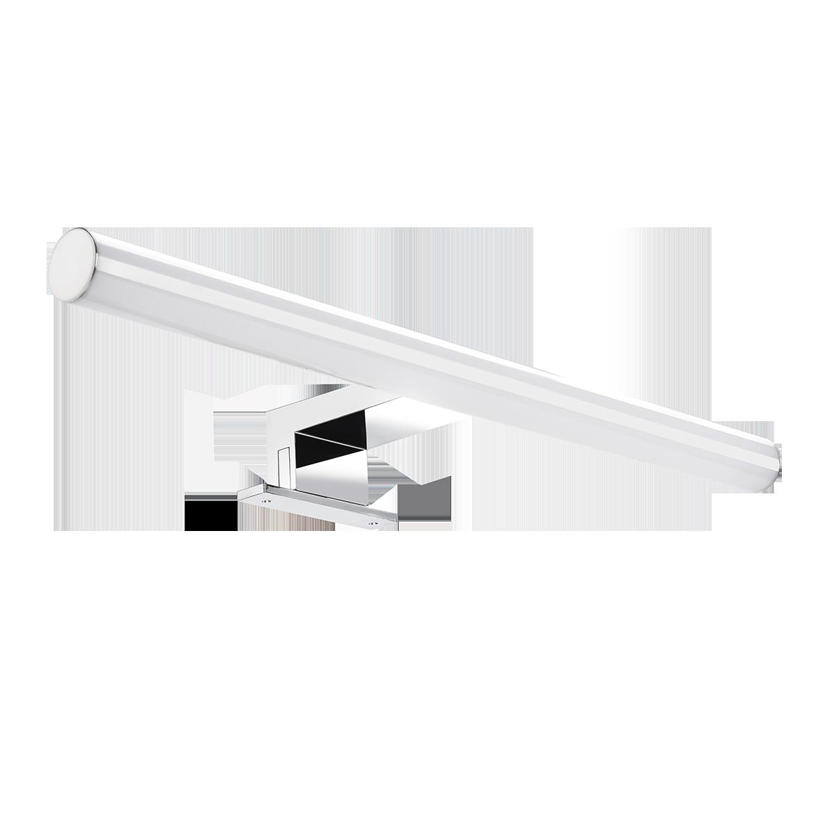 PEEGEL LED 9W, lampa nad lustro, 810lm, 4000K, dł. 60 cm, tworzywo sztuczne+akryl,