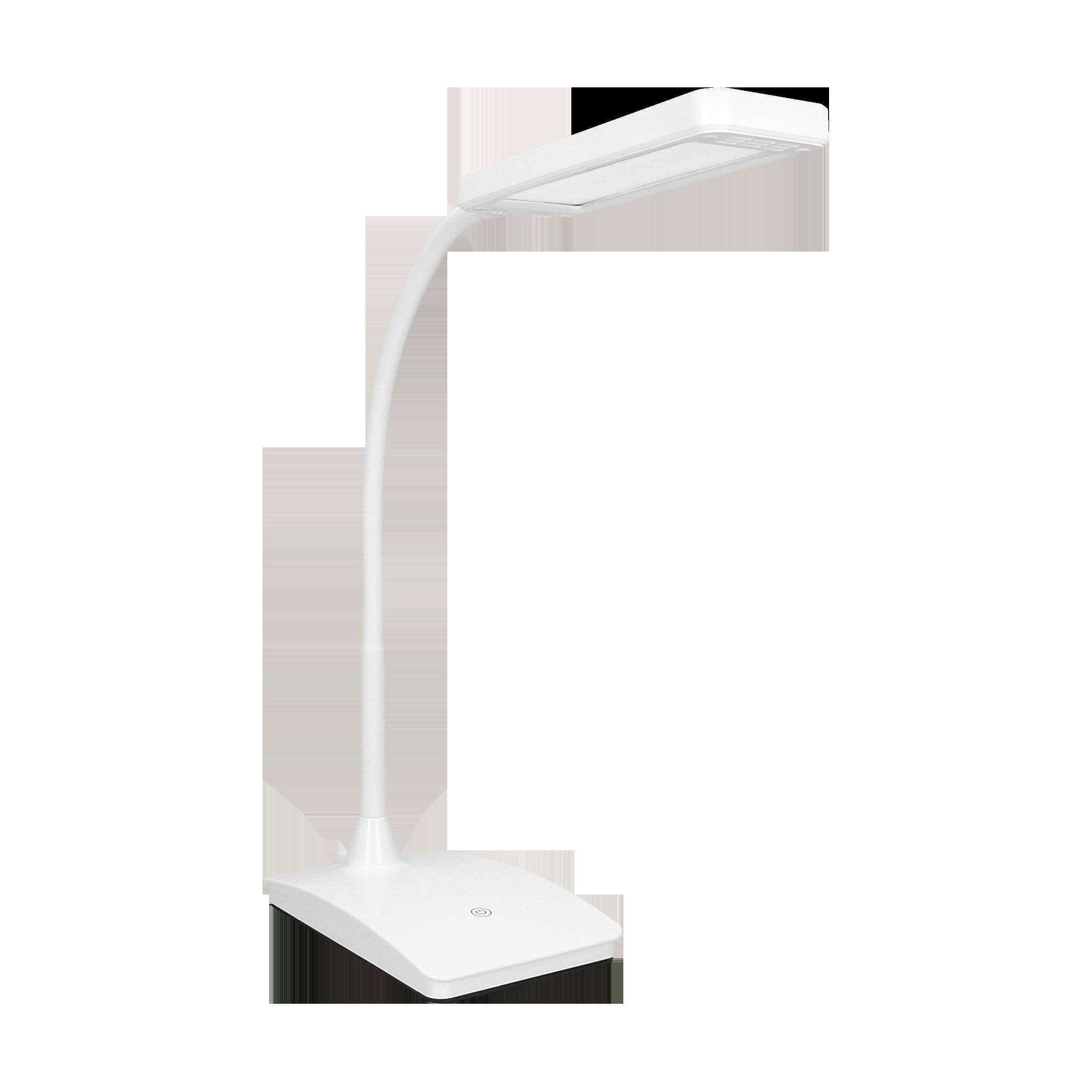 TOPAZ LED DIM 6W, lampka biurkowa, 360lm, 3000K, biała, funkcja ściemniania