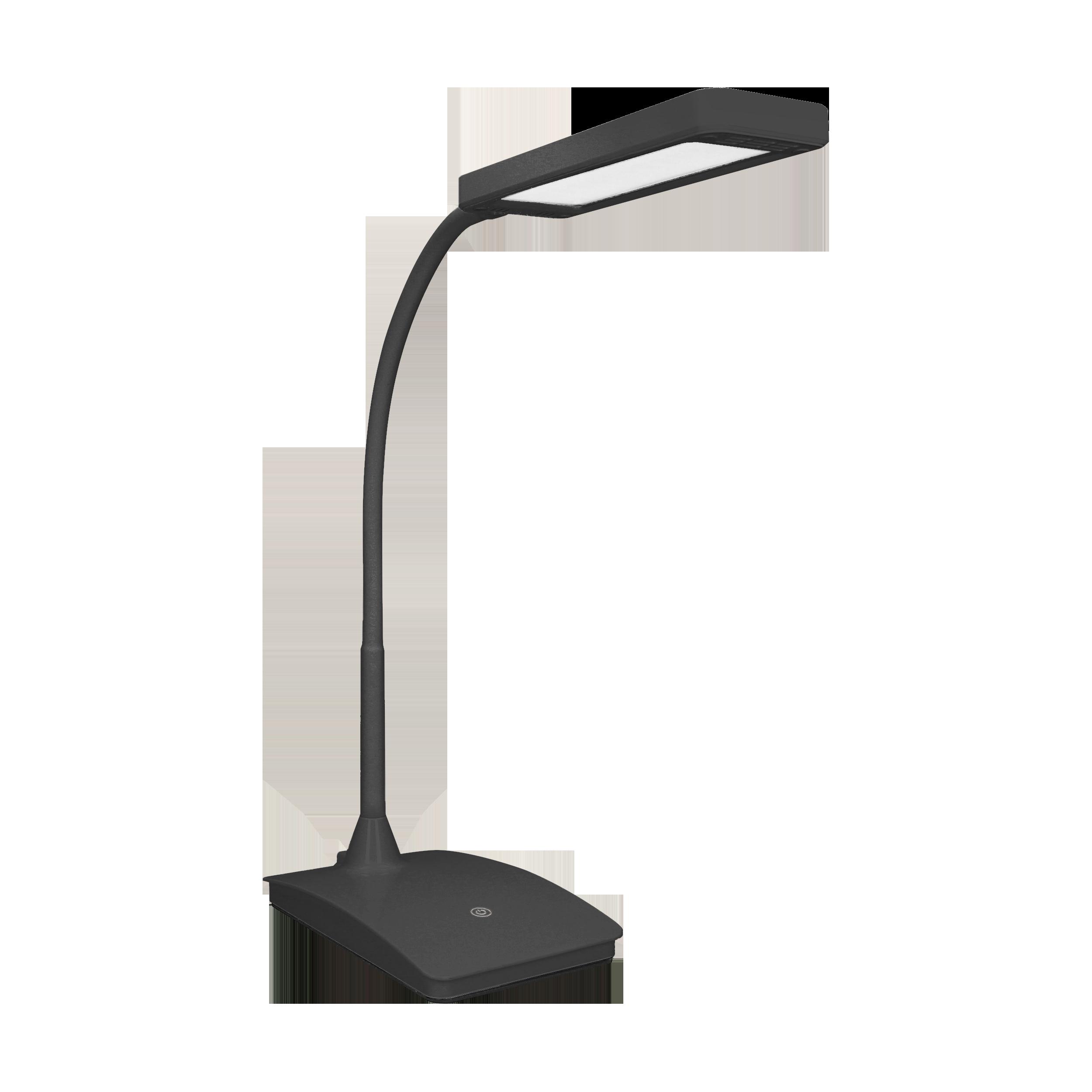 TOPAZ LED DIM 6W, lampka biurkowa, 360lm, 3000K, czarna, funkcja ściemniania
