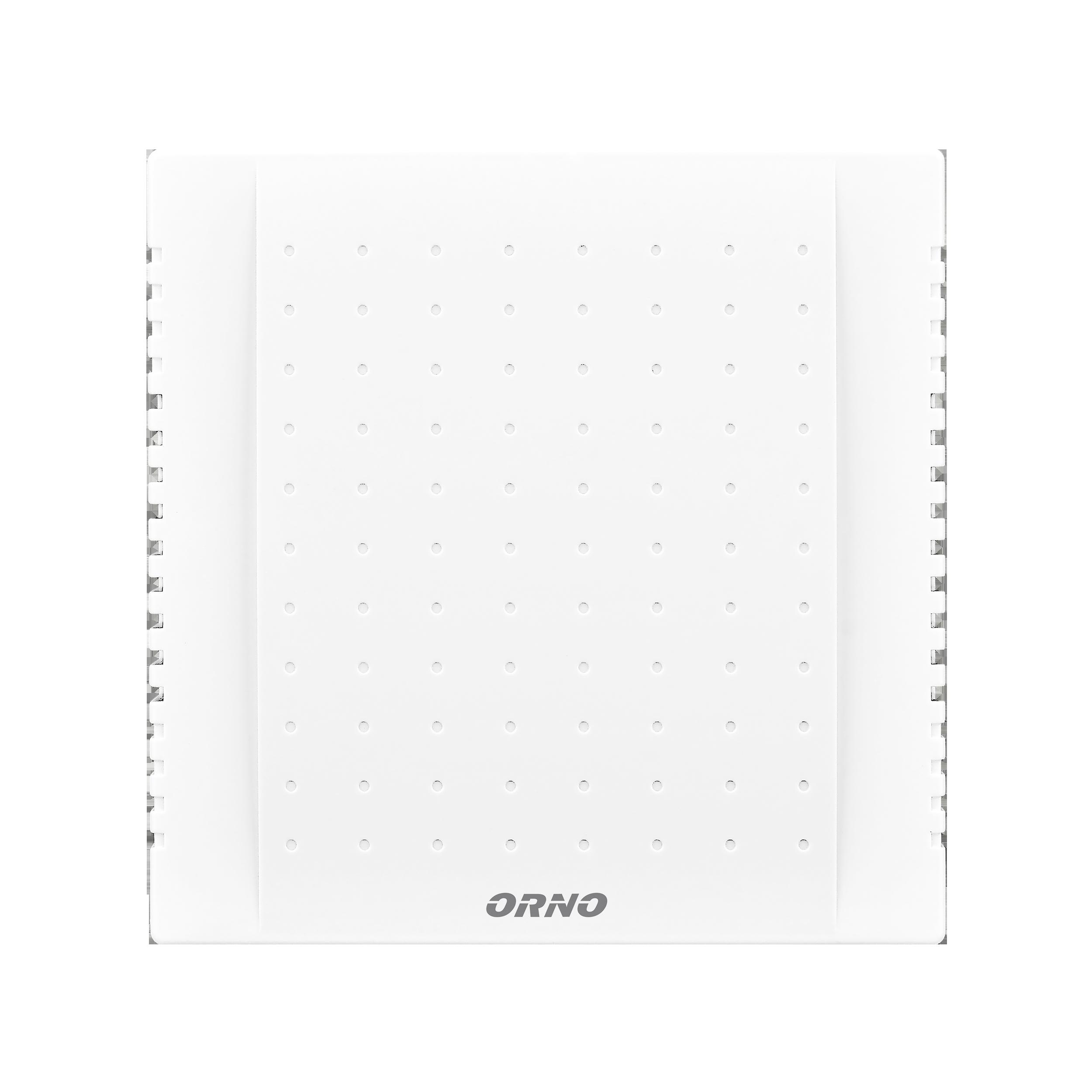 Dzwonek elektromechaniczny dwutonowy QUARTO AC, 230V, śnieżno biały