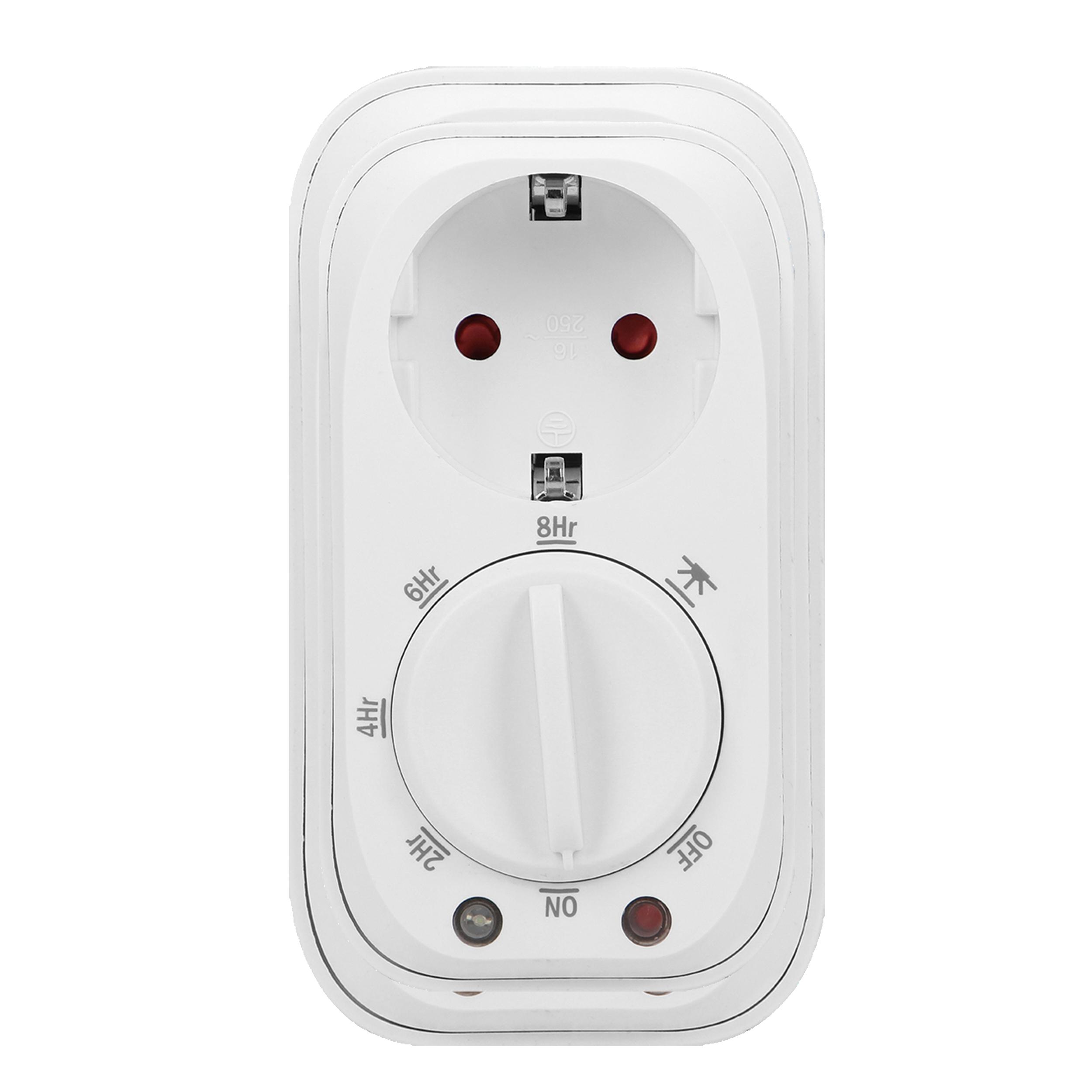 Programator czasowy mechaniczny z czujnikiem zmierzchu, Schuko, 16A/230A