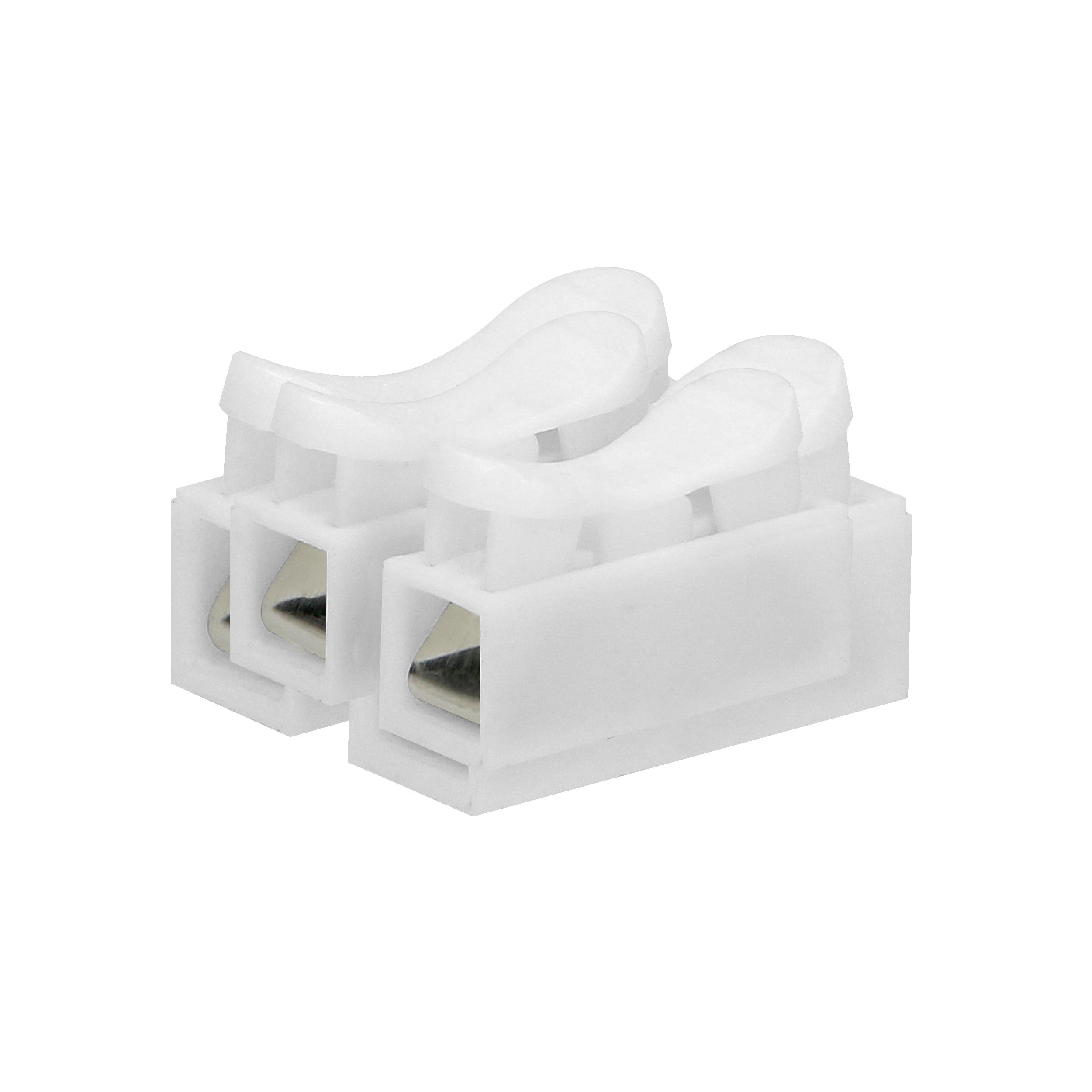 Złączka dwutorowa sprężynowa 2x2,5mm², 100 sztuk