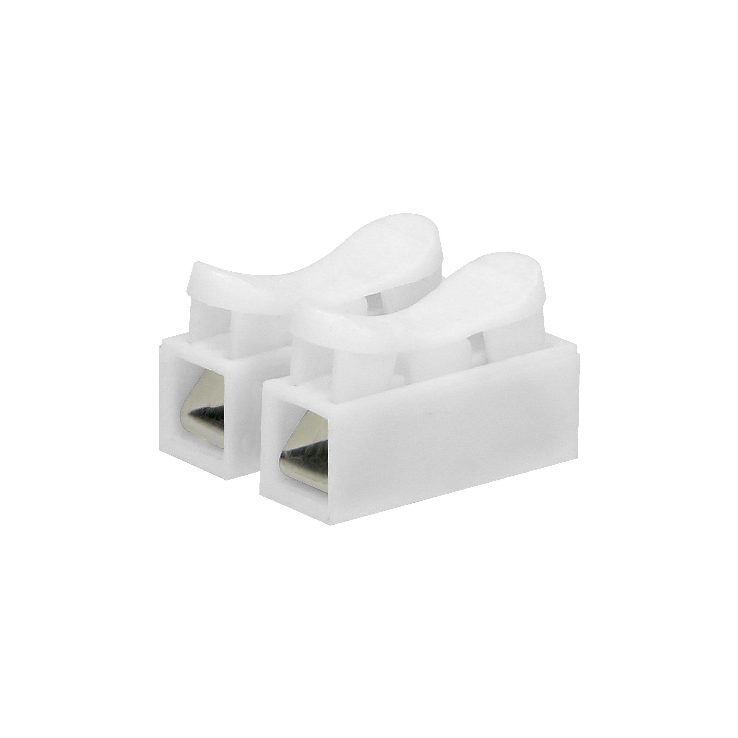 Złączka dwutorowa sprężynowa 2x2,5mm², 10 sztuk