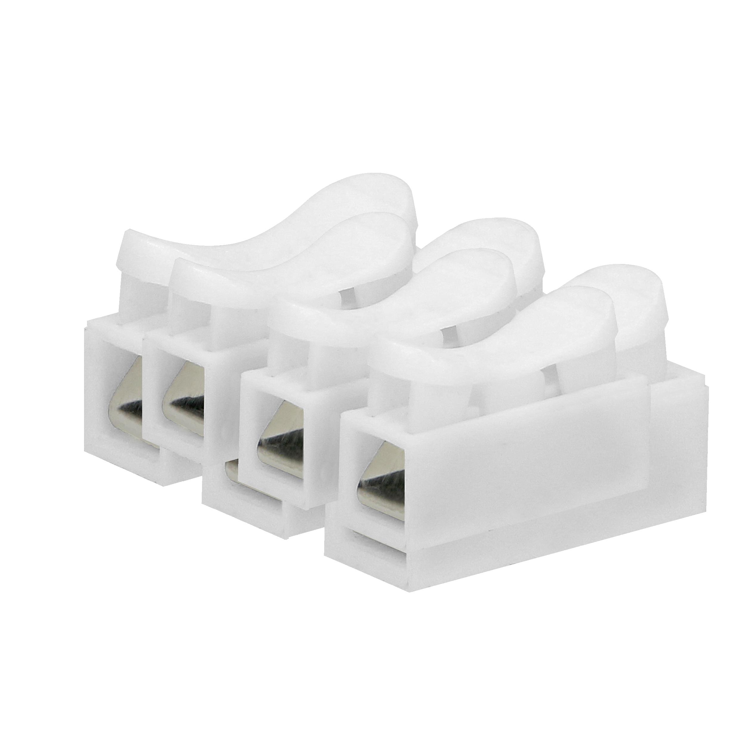 Złączka trzytorowa sprężynowa,  3x2,5mm², 100 sztuk